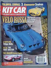 KIT CAR SPECIALTY AUTOMOTIVE MAGAZINE 2003 JULY AUGUST FERRARI ENZO COBRA DRAGON