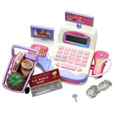 Supermarket Cash Register Scanner Checkout Counter Pretend Play Kids Toys Gifts