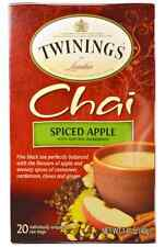 NEW TWININGS CHAI SPICED APPLE NATURAL BLACK TEA HIGH QUALITY DAILY HEALTHY CARE