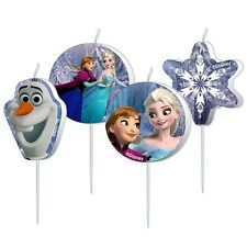 Disney Eiskönigin Frozen - Party Set - Kuchen Torten Kerzen