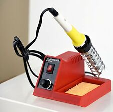 Electric 40 Watt Soldering Pencil Iron Metal Join Tool Safety Work Station Kit