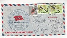 Singapore American President Lines, Ship Airmail