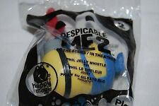 2013 McDONALDS DESPICABLE ME 2 #2 MINION PHIL JELLY WHISTLE HAPPY MEAL
