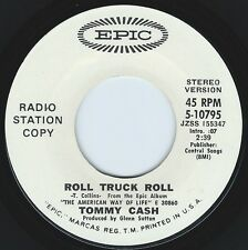 TOMMY CASH Roll Truck Roll ((**NEW 45 DJ from 1971**))