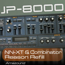 ROLAND JP8000 REASON REFILL 400+ COMBINATOR  & NNXT PATCHES 24BIT AMAZING VALUE