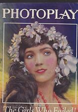 MARCH 1926 PHOTOPLAY vintage movie magazine GILDA CRAY