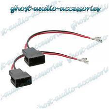 Paire de haut-parleur connecteur adaptateur câble sous plomb plug pour Toyota aygo