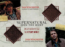 Supernatural Seasons One to Three Costume Wardrobe DM03 Sam & John Winchester