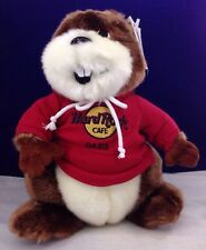 RARE 2001 HARD ROCK CAFE SQUIRREL OASIS HERRINGTON'S TEDDY BEAR TBC