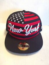 New York Yankees New Era 59Fifty Big Merica Fitted Hat 7 1/4  Navy