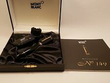 MONTBLANC Meisterstuck 18K Gold NIB N°149 Fountain Pen, EXCELLENT!