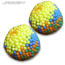 2000 Plastic Play Balls for Ball Pits Pool Bouncy Castle Multicoloured Child Toy