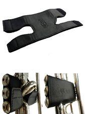 Hochwertiger Handschutz / Schoner für Trompete aus Echtleder (Klettverschluss)