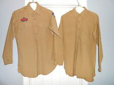 Lot of 2 Mens Size 14 1/2 - 32 USAF Auxilary Air Patrol Uniform Shirts Dress