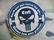 SEAL TEAM AMERICAN SNIPER craft PATCH BADGE VIOLENCE SOLVES PROBLEMS devgru NEW
