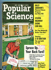Popular Science Magazine May 1965 Spruce Up Your Backyard EX 033116jhe