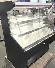 RPI Industries Bandit SCRFC4860R Refrigerated Air Screen Self-Serve Display Case