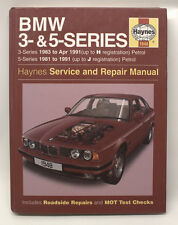 BMW 3 and 5 Series Service and Repair Manual (Haynes Service and Repair Manuals)