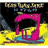 LESS THAN JAKE LOSERS KINGS & THINGS CD + DVD OF RARE LIVE VIDEO FROM 1994-2007