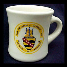 US Navy Ceramic USS George C. Marshall SSBN-654 Mug