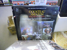 Soundtrack Cousteau Amazon vinyl LP 1984 Varese Sarabande Records EX IN Shrink
