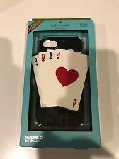 Brand New Kate Spade Silicon Deck of Cards iPhone 7 Case