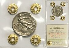 20 Centesimi 1908 Libertà Librata - Periziato qSPL-SPL