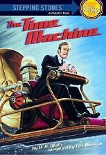 A Stepping Stone Book: The Time Machine by H. G. Wells (1990, Paperback, Adapted