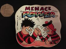 "Vinatge 1989 BEANO ""DENNIS THE MENACE"" RARE Comic book Decal Sticker DBS29"