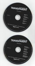 TRANSPARENT 2 DVD SET Amazon Studios FYC Season 1 JEFFREY TAMBOR + Free Ship