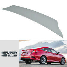 Unpainted Wing Honda Civic EX DX 10th Saloon V-Style Rear Boot Trunk Spoiler