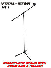 Vocal Star MS-1 Microphone Stand with Boom Arm & Microphone Holder