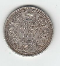 1919 Indian One Rupee - Nice Condition! (J)