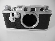 LEICA IIIF RED DIAL SELF TIMER VERY CLEAN FILM TESTED BRIGHT RANGEFINDER JST CLA