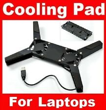 USB 2 FAN FOLDING MINI TRAVEL COOLER COOLING PAD LAPTOP NOTEBOOK PC PS3 XBOX