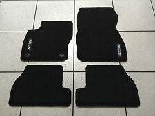 BLACK PREMIUM CARPET FLOOR MATS (FRONT & REAR) 2012-2014 FORD FOCUS. BRAND NEW!