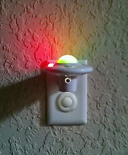 Children's Bedroom LED Night Light Plug-in Wall ,Space Theme AUTOMATIC ,No BULB.
