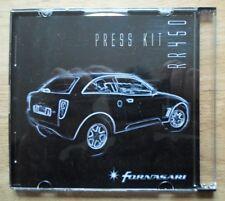 FORNASARI RR450 orig 2001 Press Kit Pack CD - not brochure