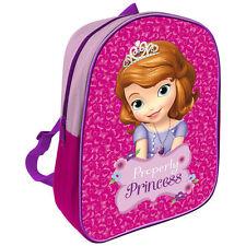 Disney Prinzessin Sofia Kinder Rucksack Tasche Kindergartenrucksack Blumen pink
