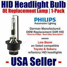 OE HID Headlight Low Beam GENUINE German PHILIPS fits Select Toyota & Subaru D2R