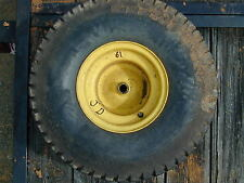#61 John Deere Riding Lawn Mower Rear Wheel & Tire - 20 x 10.00 - 8NHS