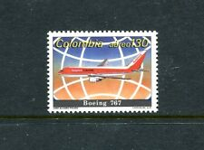 Colombia C813, MNH, Boeing 767 1989. x23539