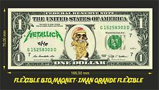 METALLICA ONE IMAN BILLETE 1 DOLLAR BILL MAGNET