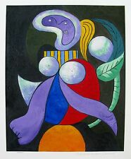 Pablo Picasso WOMAN WITH FLOWER Estate Signed Limited Edition Art Giclee