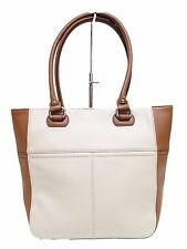 New Withou Tag Tignanello Perfect Pockets Medium Tote Sand/Cognac Leather