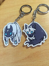 League Of Legends LOL Eternal Hunters  Kindred Keychain Keyring Strap