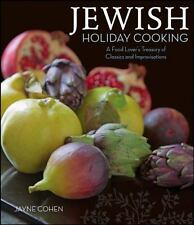 Jewish Holiday Cooking: A Food Lover's Treasury of Classics and Improv-ExLibrary