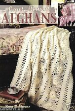 Quiet Moments Afghans ~ Crochet Book ~  3 Afghan Patterns to crochet