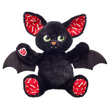 Build a Bear -16 in. Boo-rrific Black Halloween Bat Plush-Unstuffed or Stuffed