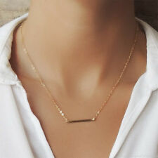 *EXTREMELY RARE* $120 BHLDN 14K BAR GOLD CHAIN NECKLACE ANTHROPOLOGIE
